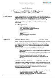 accoutant resumes achievements on resume examples examples of resumes