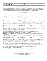 Retail Assistant Manager Resume Examples Simple Free Hotel General Manager Resume Examples Restaurant To Try Today