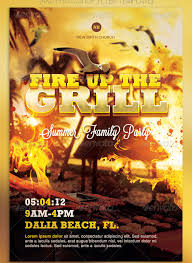 Best Barbecue Flyer Templates Four C Graphic And Printing