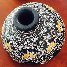 Pot Decoration Designs Pot Painting Decorative Pot Painting Manufacturer from Hyderabad 65