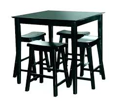 small pub table and chairs 5 piece set round black small kitchen pub table and chairs round