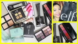 elf haul 2016 new from elf cosmetics mive haul featuring some of the newest s it s a first impression review and demo elf makeup