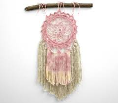 Dream Catcher For Baby Room Cool Bohemian Wedding Dreamcatcher Wall Hanging Wedding Dream Catcher