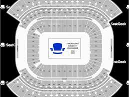 Michigan Stadium Map With Rows Nissan Stadium Seating Chart