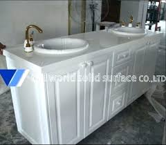 solid surface bathroom countertops bathroom solid surface acrylic solid surface vanity tops artificial stone bathroom white
