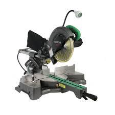 hitachi saw. hitachi c8fshe 8-1/2 in. sliding compound miter saw e