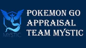 Pokemon Go Appraisal Feature Iv Checker Team Mystic Blanche Discussion Overview Explained