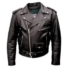 allstate leather inc men s black buffalo leather motorcycle jacket