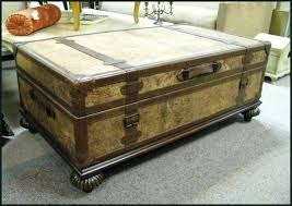 trunk coffee table trunk coffee table with lift top trunk coffee table diy