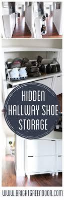 Shoe Storage Solutions Best 25 Shoe Storage Solutions Ideas On Pinterest Shoe Storage