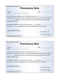 Promissory Note Templates Word 12 Promissory Note Templates Samples In Microsoft Word