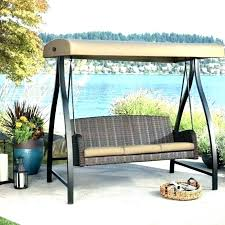 3 seat porch swing garden treasures porch swing garden treasures cushions garden 3 seater patio swing 3 seat porch swing