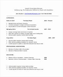 Chronological Resume Example Interesting Simple Resume Format Download In Ms Word Impressive Chronological