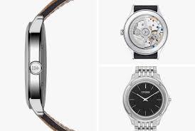 best thin watches for men gear patrol