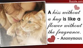 30 Beautiful And Sentimental Quotes About Hugs And Kisses
