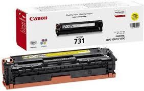Купить <b>картридж</b> и <b>тонер</b> для принтеров/МФУ <b>Canon 731</b> Yellow ...