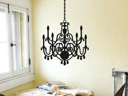 chandelier wall decals image of wall decals for bathroom vinyl chandelier wall decals