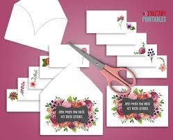 Open When Envelopes Open When Letters Printable Envelope Template