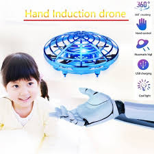 Flying Helicopter <b>Mini Drone UFO RC</b> Drone Infrared Induction ...