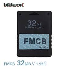 BitFunx Giá Rẻ McBoot 32 Thẻ Nhớ Cho PS2 FMCB V1.953|card|card cardcard  memory - AliExpress