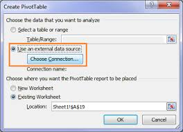 Create A Pivot Table Direct From Access My Online Training Hub