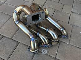 af honda b series topmount turbo manifold