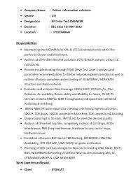 Rf Test Engineer Sample Resume Inspiration Rf Engineer Sample Resume Heroesofthreekingdomsservers