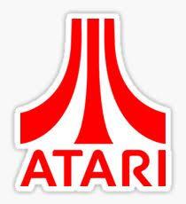 Atari logo Sticker
