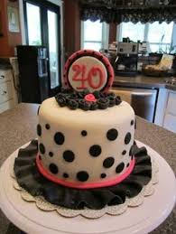 Female 40th Birthday Cake Google Search Birthday Cake Ideas