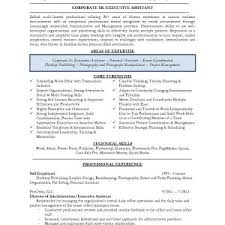 Resume Samples Senior Administrative Assistant Best Senior ...