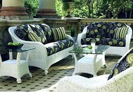 wicker lawn furniture large grey rattan outdoor