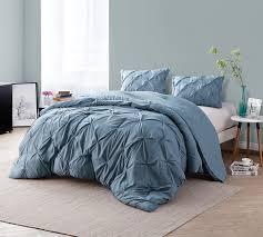What size is a queen comforter Linens Best Comforter Smoke Blue Pin Tuck Queen Comforter Softest Comforter Byourbed Softest Comforter Queen Size Comforter For Best Sleep Cozy Soft