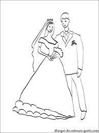 Disegni Di Matrimoni Da Colorare E Stampare