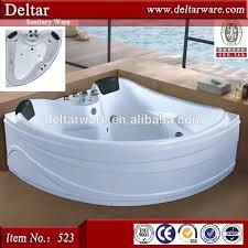 bathtubs modern corner jacuzzi tub with shower luxury export bathtub s relax massage function led