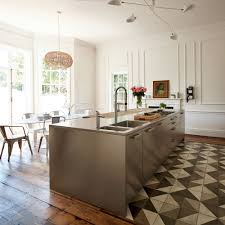 traditional contemporary kitchens. Island,historical,Georgian,stainless Steel,reclaimed,wooden Flooring,bar Stools Traditional Contemporary Kitchens N