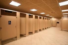 stall Pizza Travel Concrete Public Bathroom Partition Fresh