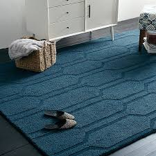 view in gallery blue honeycomb rug