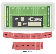 Grande Communications Stadium Tickets And Grande