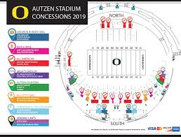 University Of Oregon Football Stadium Seating Chart Autzen Stadium University Of Oregon Athletics