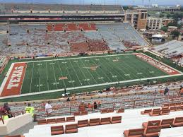 Ut Football Seating Chart Dkr Texas Memorial Stadium Section 106 Rateyourseats Com