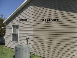 how to re faded vinyl siding