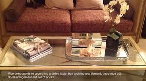 For Decorating A Coffee Table Designer Tip Decorating A Coffee Table Youtube