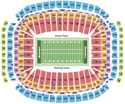 Nrg Stadium Seating Chart Houston