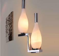 glass bottles design light wall modern minimalist home lighting corridor balcony wall lighting bedside bottles light