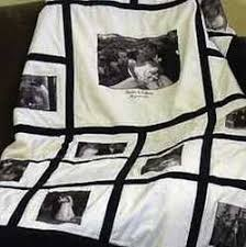 18 best Wedding quilt ideas images on Pinterest | Wedding quilts ... & Perfect special wedding gift, black and white chic photo quilt. Adamdwight.com