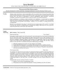 Sample Sales Representative Resume Pharmaceutical Sales Representative Resume Pharmaceutical Sales Rep 16