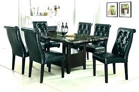 marble top kitchen table set round marble top dining table set black marble top round dining