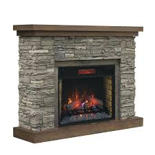 full image for chimney free brown ash wood veneer infrared quartz electric fireplace menards tv stand