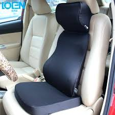 super soft car cushion set memory foam lumbar support back neck pillow seat nz