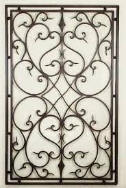 iron wall art. Rectangle Abstract Floral Accented Accessories Home Decoration Fabulous Cast Iron Wall Art Pinterest Stained Artistic Detailed O